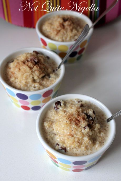 sweet quinoa pudding