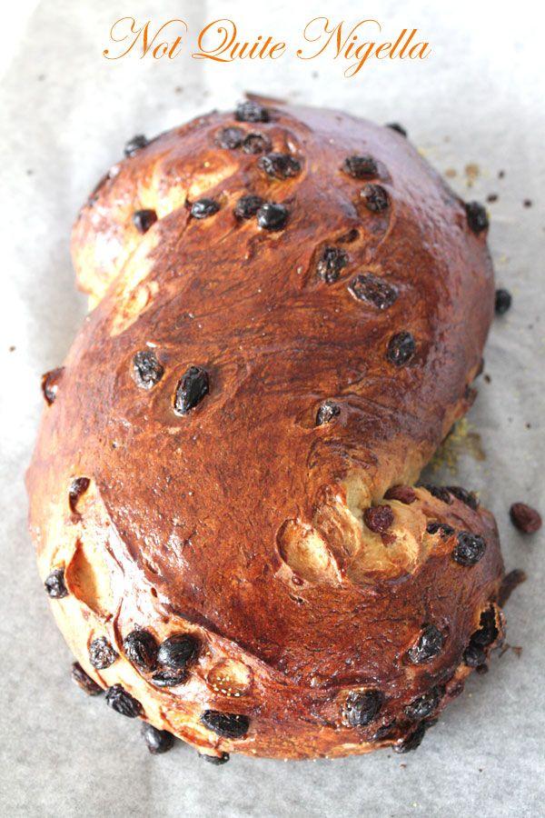 Sweet Saffron Bread