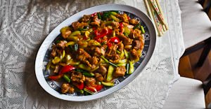 My Mother's Recipe: Sweet & Sour Pork & A Very Special Wedding