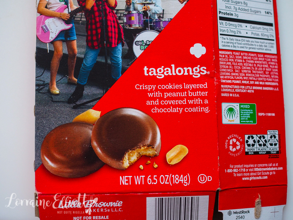 Tagalongs Girl Scout Cookies
