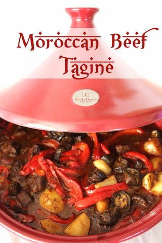 Emile Henry Tagine Road Test: Moroccan Beef Tagine and Creamed Polenta