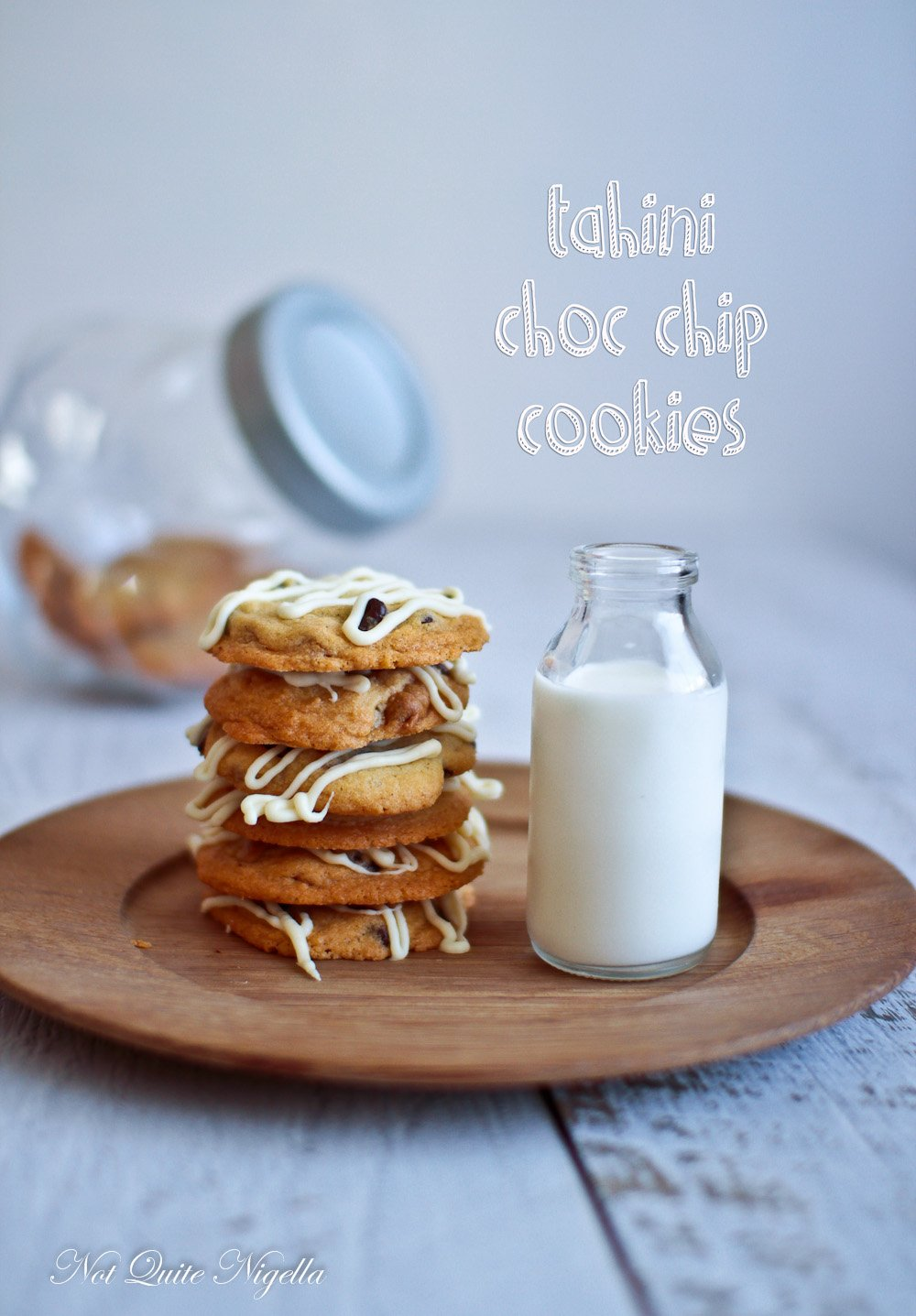 Tahini Chocolate Chips Cookies