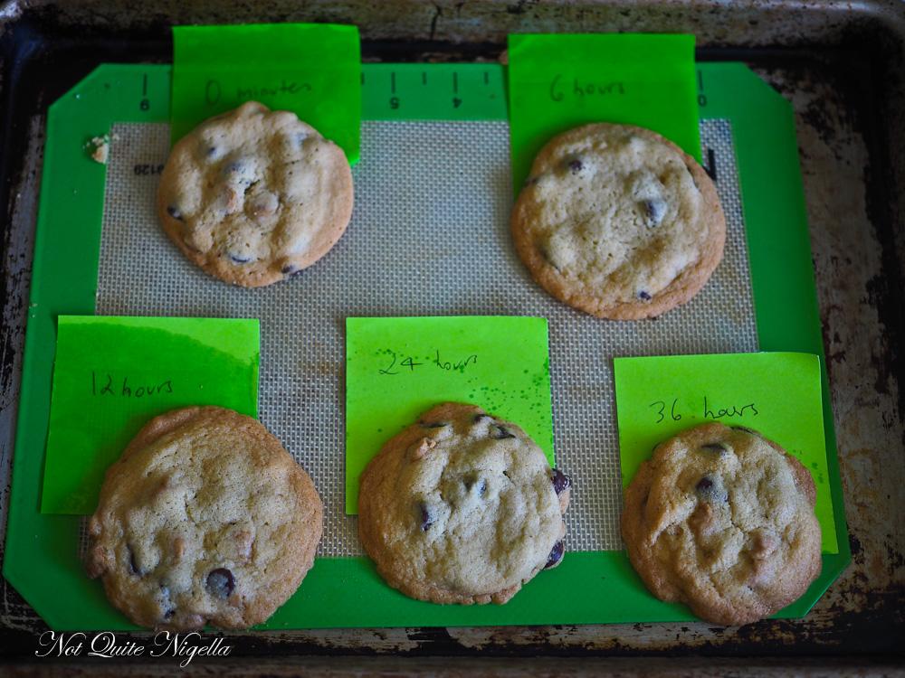 Tahini Chocolate Chips Cookies