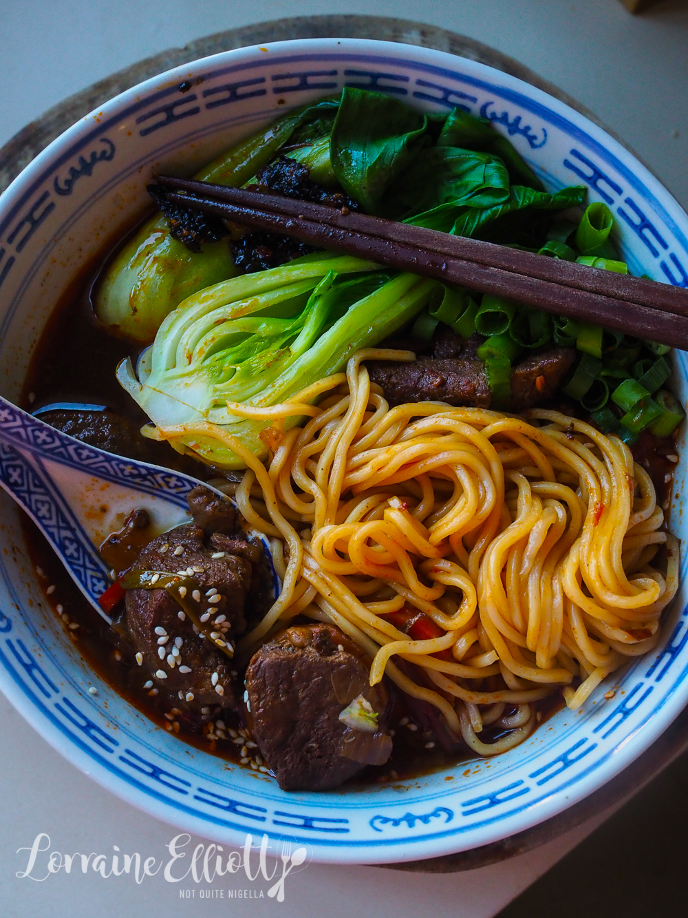 Taiwanese Beef Noodle Soup!