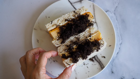 SOFTEST Tamagoyaki Sando Truffle Egg Sandwich!