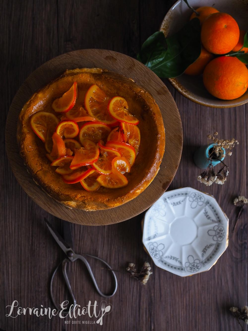 Tangelo Cheesecake recipe
