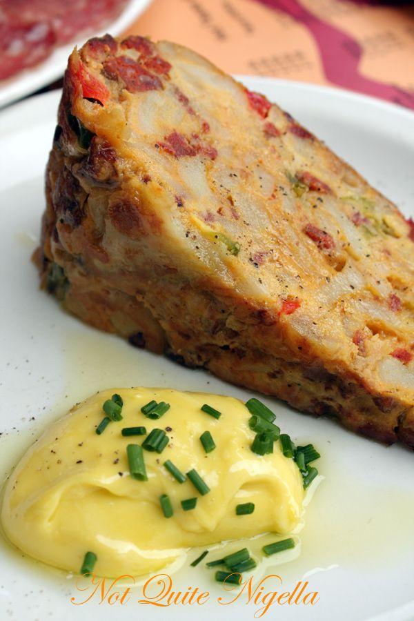 Brindisa Tapas London omelette