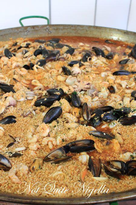 taste of sydney el toro paella