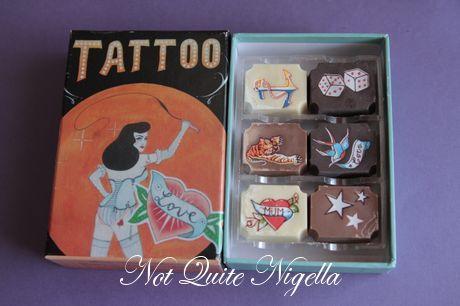 tattoo cupcakes