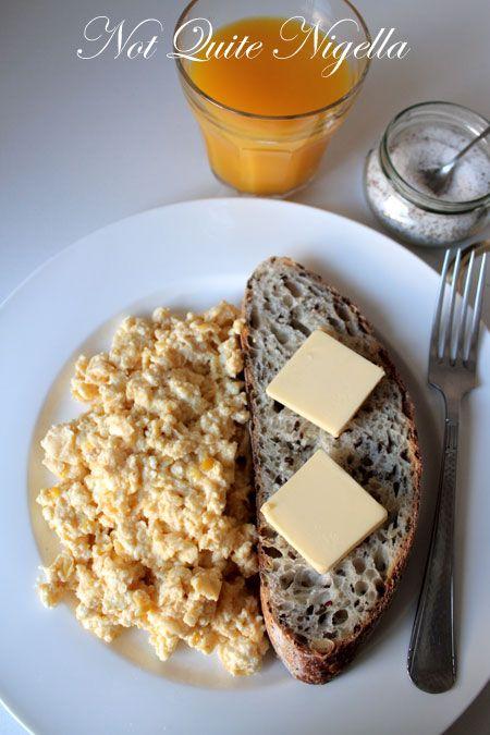 perfect scrambled eggs