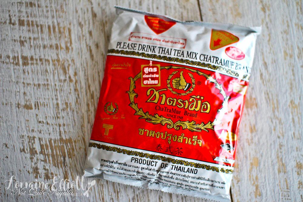 Thai Milk Tea Custard Tart