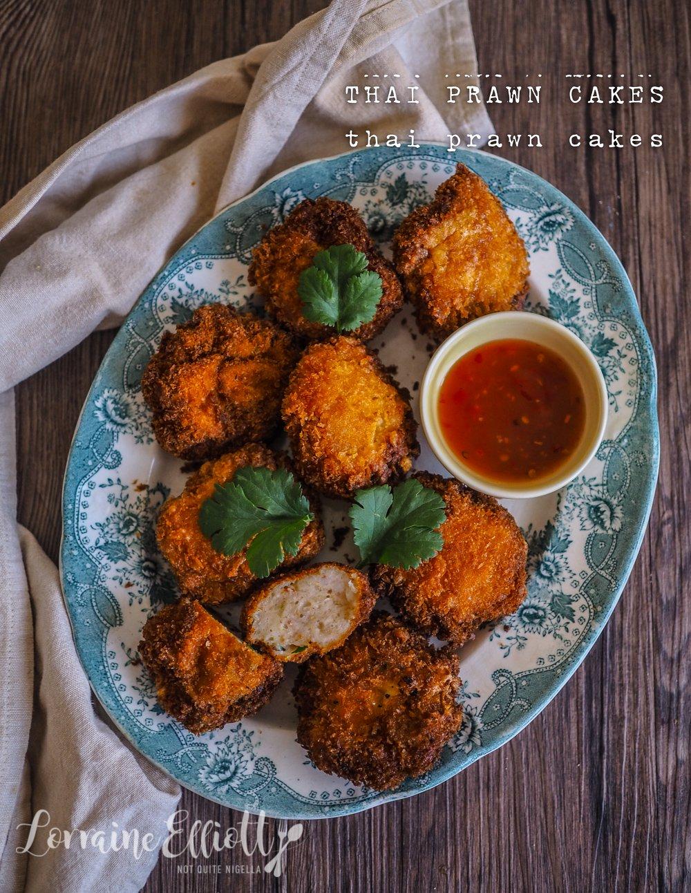 Thai Prawn Cakes Tod Mun Goong recipe