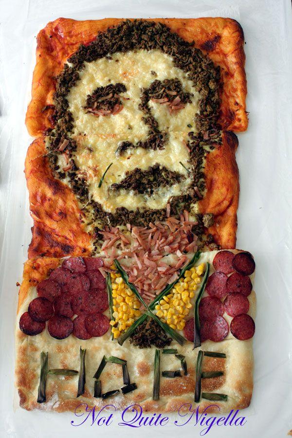 The Barack Obama Inauguration Pizza!