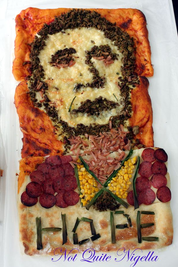 The Barack Obama Inauguration Pizza!