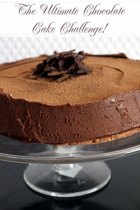 The Ultimate Chocolate Cake Challenge!