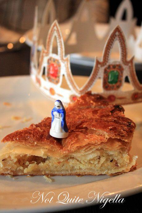 Galette des rois cake victoire bakery balmain not for Galette des rois decoration