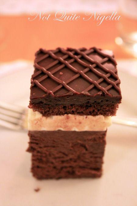 hotel goldener hirsch choc cake