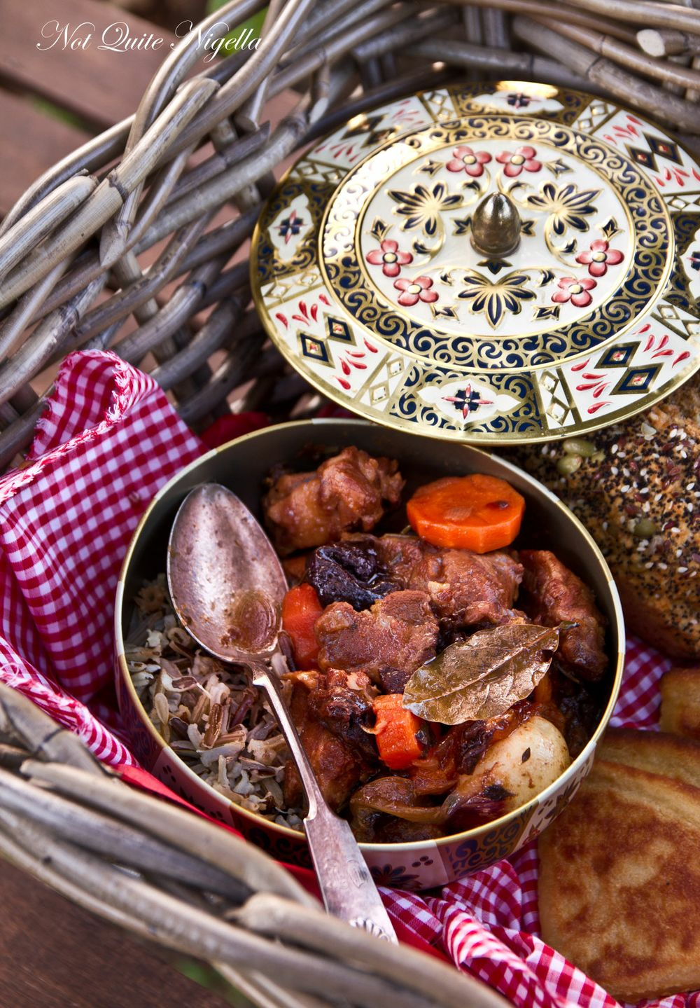 The Hunger Games Lamb Stew with Dried Plums @ Not Quite Nigella