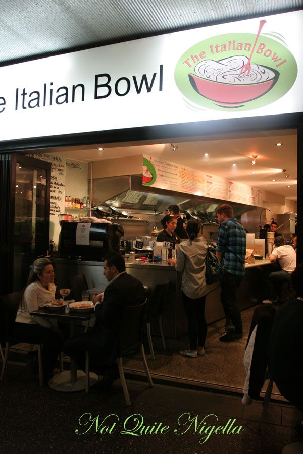 The Italian Bowl at Newtown