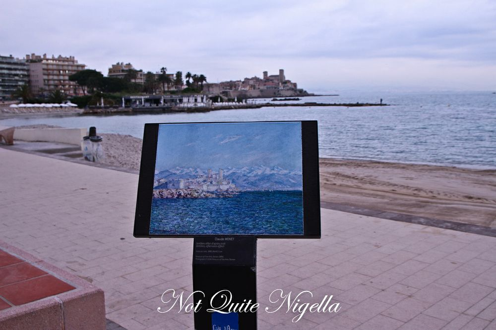 The Light in Antibes, France