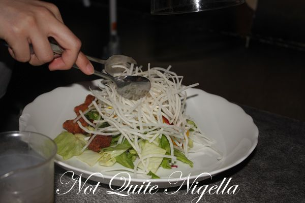 The Lockup restaurant Shibuya salad