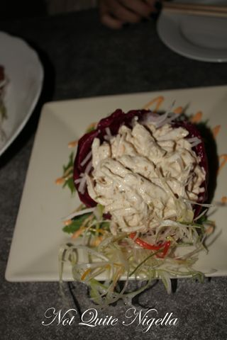 The Lockup restaurant Shibuya Chicken salad