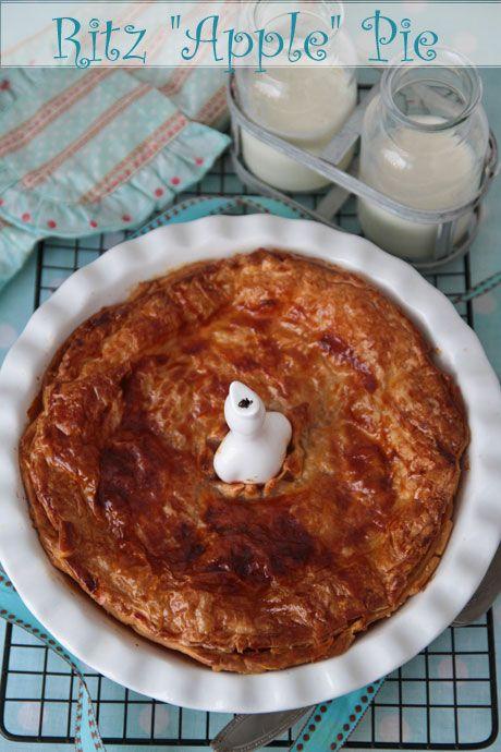 ritz apple pie recipe