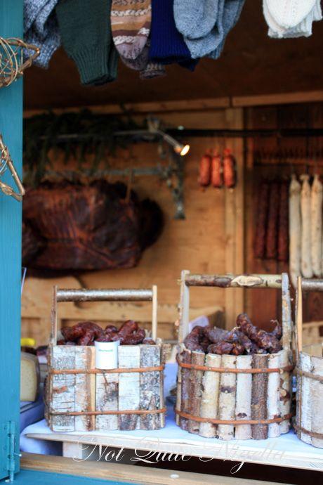 hellbrun christmas markets sausages