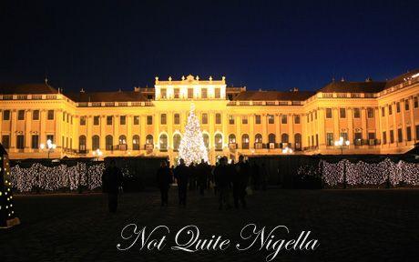 schoenbrunn palace christmas markets markets