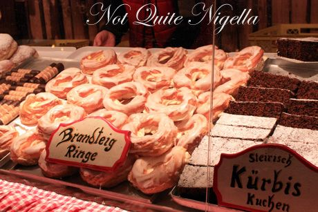 vienna christmas markets pastries