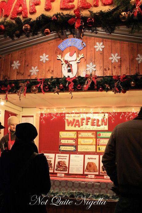 vienna christmas markets waffles