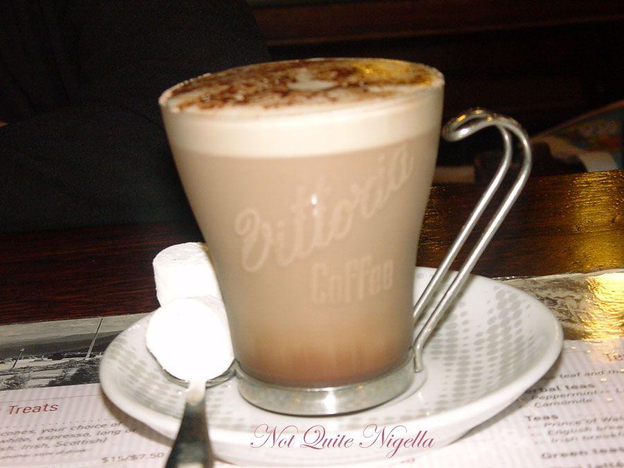 The Paragon Cafe at Katoomba, Blue Mountains Nelgian hot Chocolate