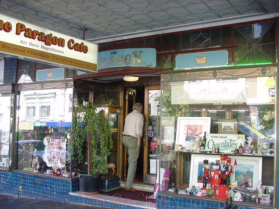 The Paragon Cafe at Katoomba, Blue Mountains