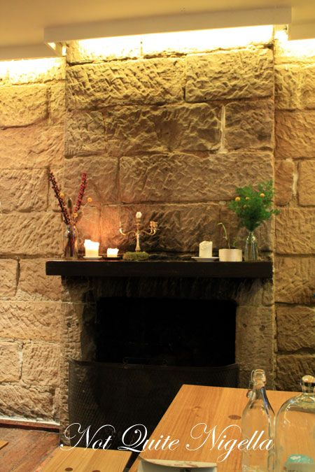 the pond darlinghurst fireplace