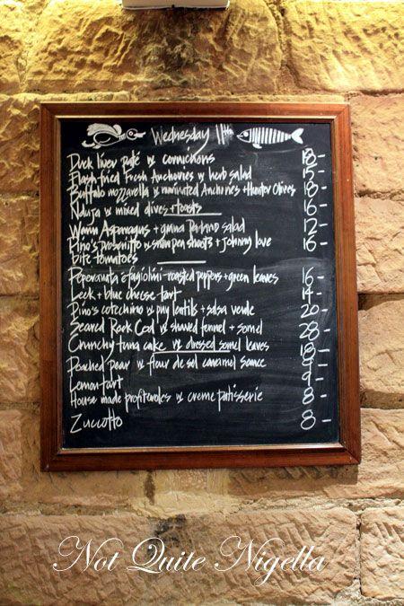 the pond darlinghurst menu