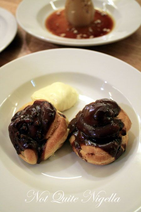 the pond darlinghurst profiterroles