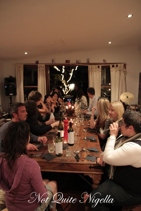silent dinner party