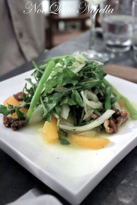 the smokehouse, surry hills, review, salad