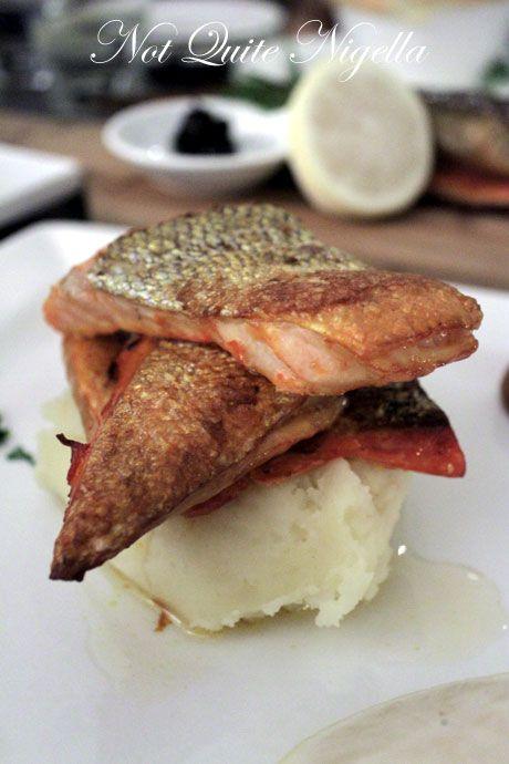 the smokehouse, surry hills, review, salmon