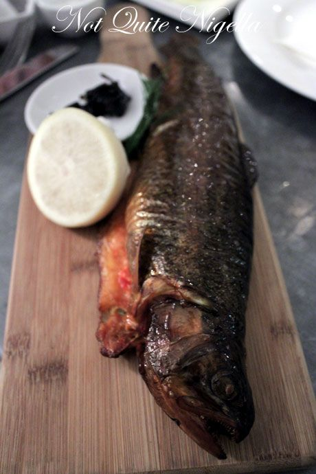 the smokehouse, surry hills, review, trout