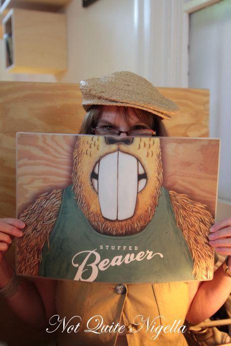 the stuffed beaver, bondi