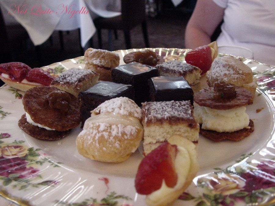 The Tea Room, Queen Victoria Building Sydney-cake selection