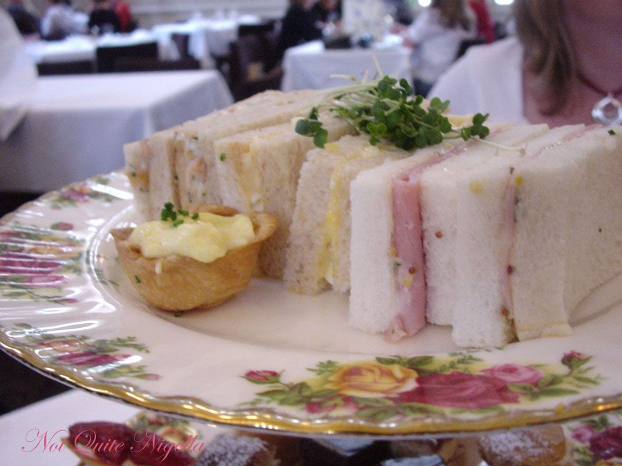 The Tea Room, Queen Victoria Building Sydney Sandwiches