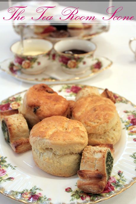 The Tea Room's Fabulous Scone Recipe!