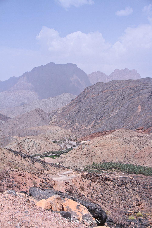 the view hail al shas oman