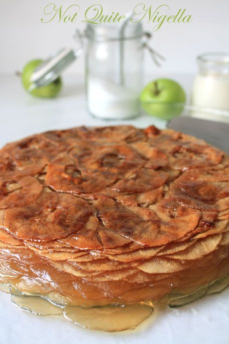 thousand layer apple cake 1