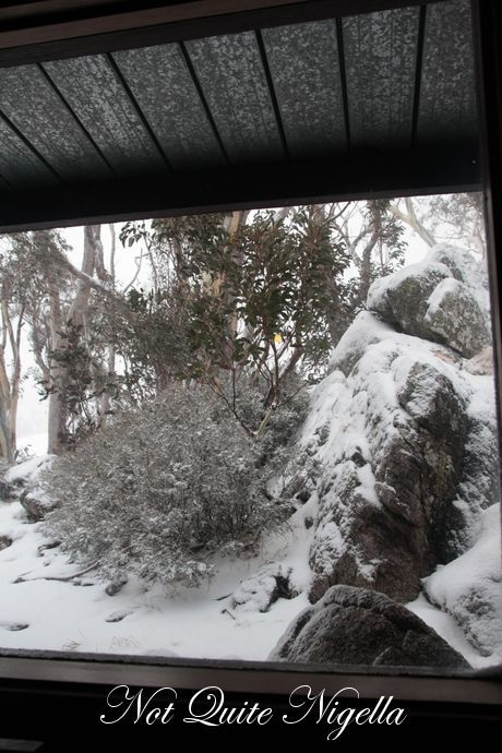 thredbo food wine clicquot in the snow