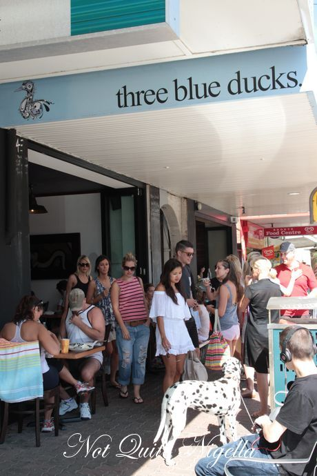 three blue ducks bronte
