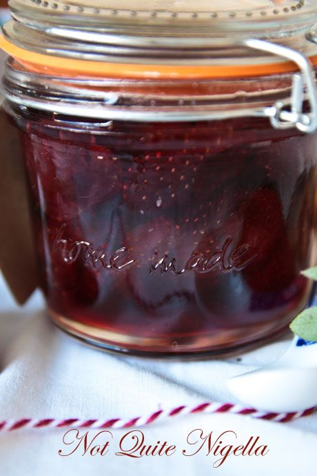 three day strawberry jam recipe
