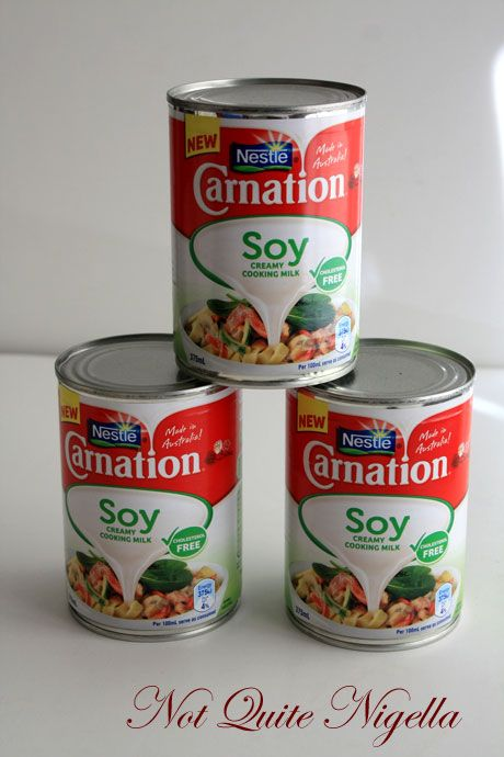 carnation soy cans